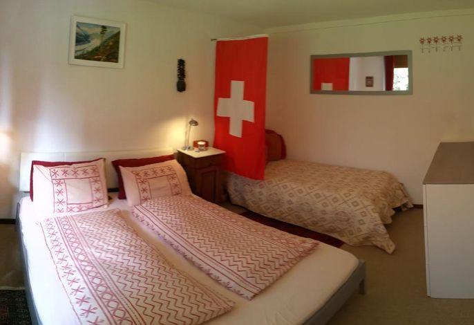 EU Kingsize-Bett, Einzelbett und Fußbodenmatratze