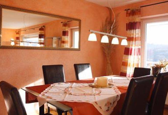 Wohnzimmer Ferienwohnung Ambiente