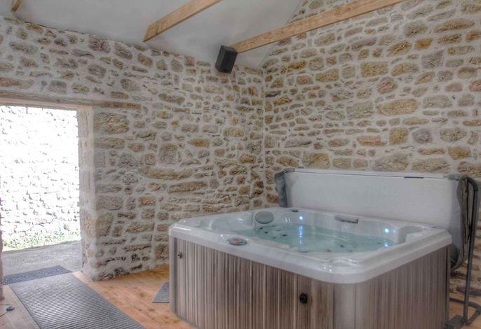 Ferienhaus mit Whirlpool und Sauna
