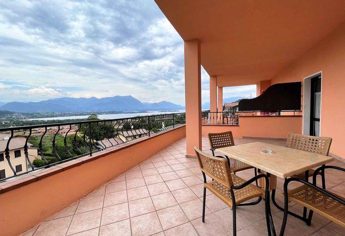 Ferienwohnung in der Residence Bellavista mit Pool