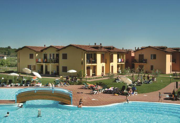 Ferienwohnung mit Außenpool und Kinderanimation in toller Residenz