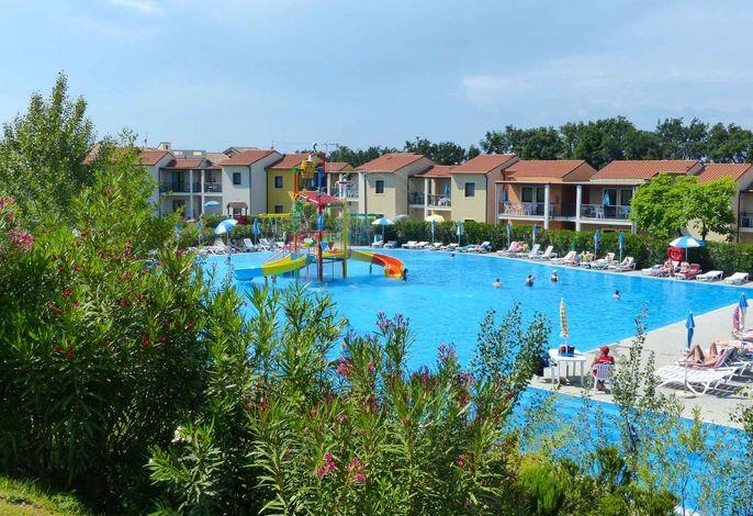 Ferienwohnung mit Pool - Castelnuovo del Garda / Verona