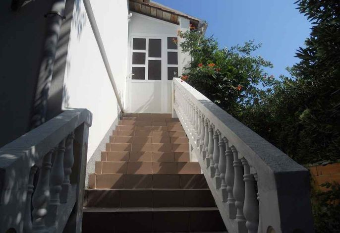Ferienwohnung mit 20 qm Terrasse und Meerblick