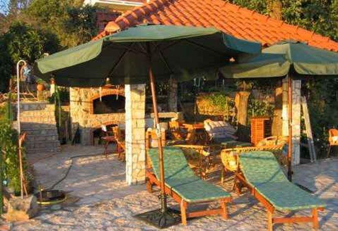 Ferienwohnung mit schöne Terrasse und Meerblick