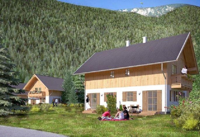 Ferienhaus mit Hallenbad, Wellness und Kinderspielplatz im Feriendorf