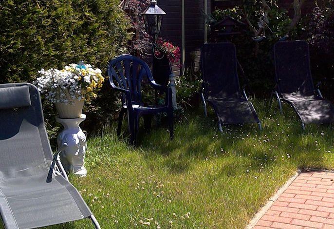 Ferienhaus mit Garten und Grillmöglichkeit