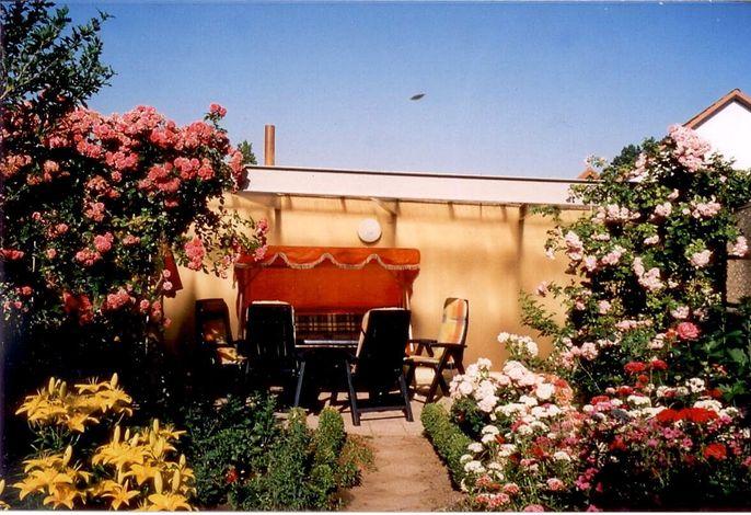 Ferienwohnung mit Gartenterrasse