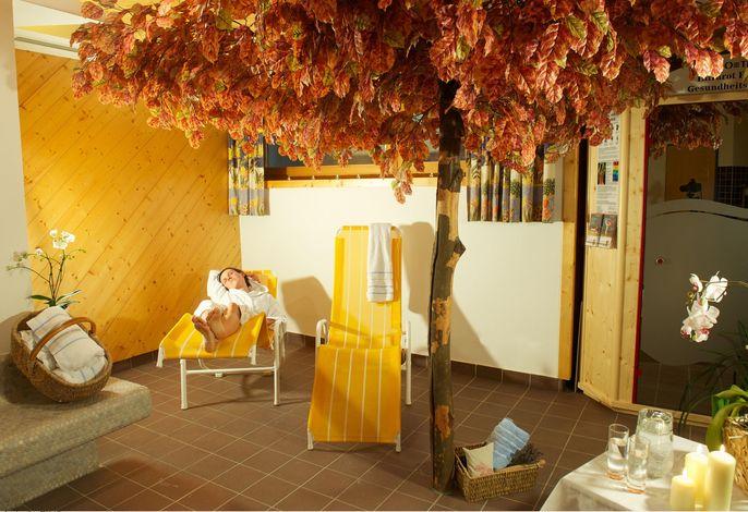Ferienwohnung mit Sauna und Parkplatz