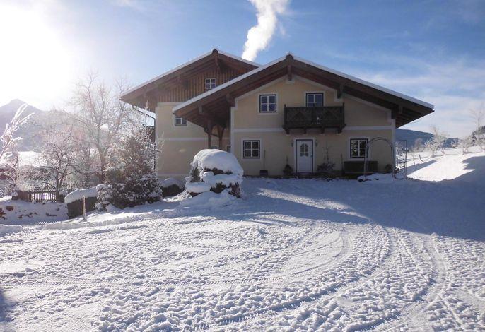 Ferienwohnung Flachau mit Sauna und Blick auf die Skipiste
