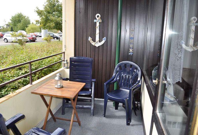 Ferienwohnung mit Balkon nur 200 m zum Ostseestrand