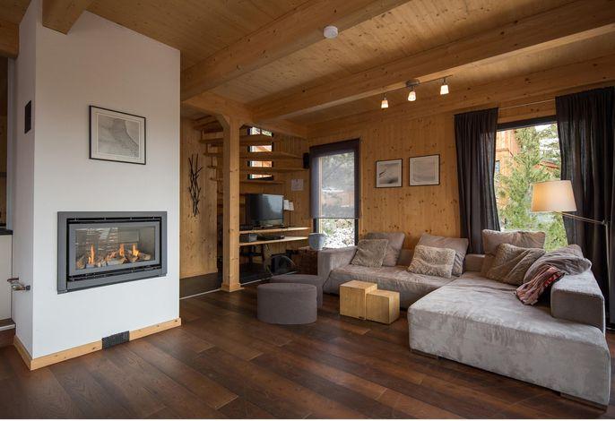 Ferienhaus mir eigener Sauna und Whirlpool