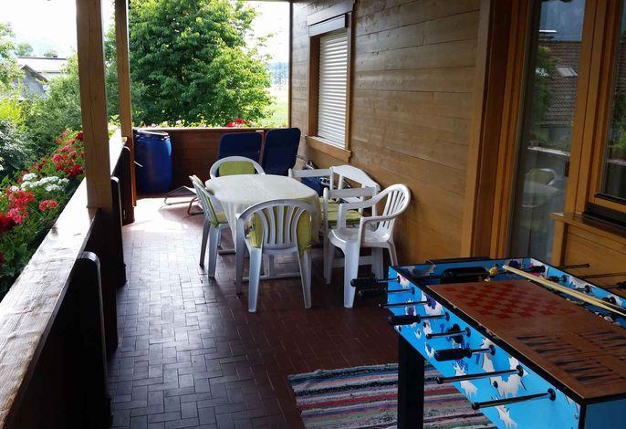 Ferienwohnung mit großen Balkon in ruhiger und sonniger Lage