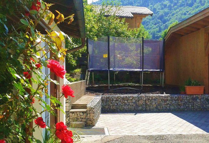 Ferienwohnung mit Wintergarten und Terrasse