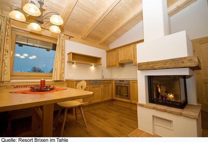 Ferienhaus mit Terrasse und in einer Ferienanlage