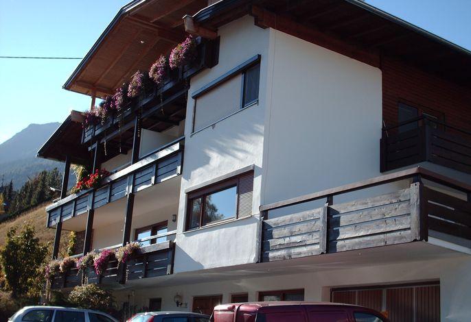 Ferienwohnung mit großer Terrasse im Stubaital