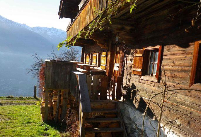 Ferienhaus traditionelles Bauernhaus mit Panorama