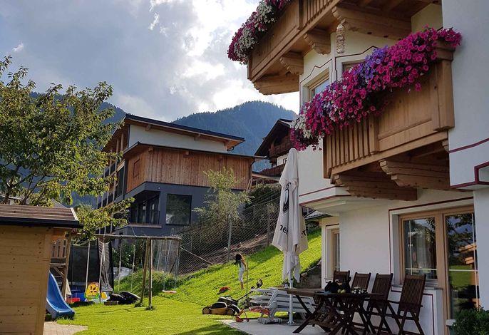 Ferienwohnung mit Blick auf die Berge
