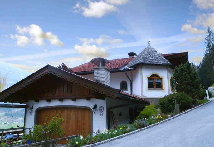 Ferienwohnung mit Panoramablick ins Zillertal