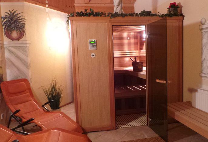 Ferienwohnung auf dem Bauernhof mit Sauna