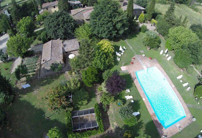 Ferienhaus con piscina