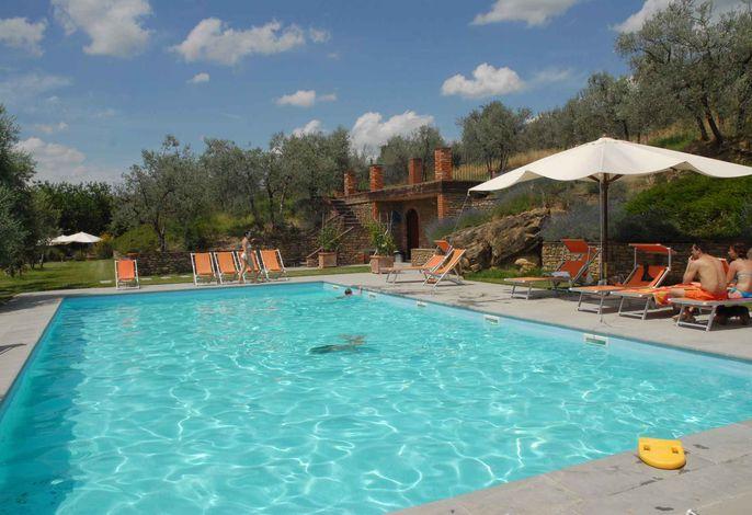 Ferienwohnung mit Pool und WiFi inklusive