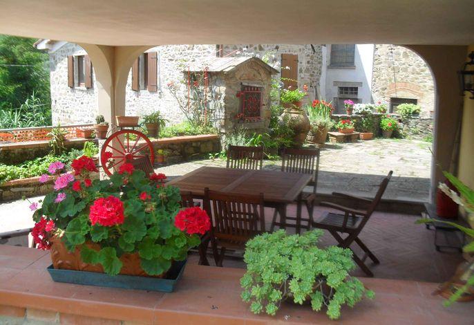 Ferienhaus mit Terrasse und Meerblick