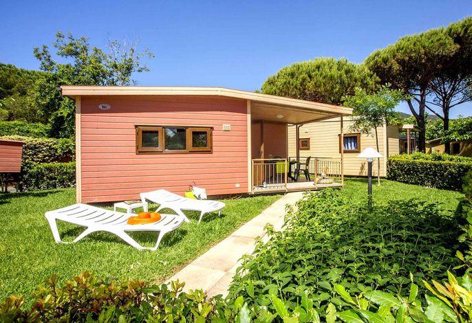 Mobilehome mit Garten, Klimaanlage und 150 Meter vom Meer entfernt