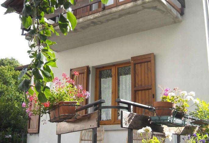 Ferienhaus in Bergen, mit Terrasse und Garten