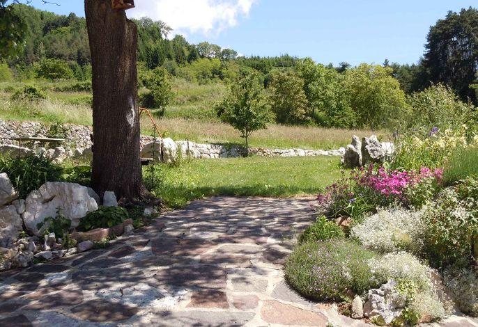 Ferienwohnung von 150 qm und mit Garten