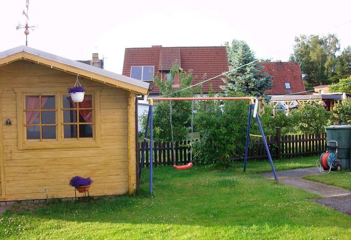 Ferienwohnung mit Kinderschaukel und Grillmöglichkeit