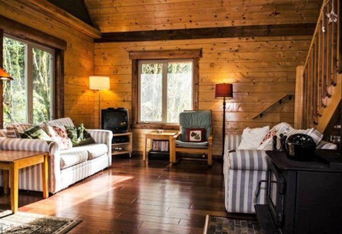 Finnhütte in a quiet location