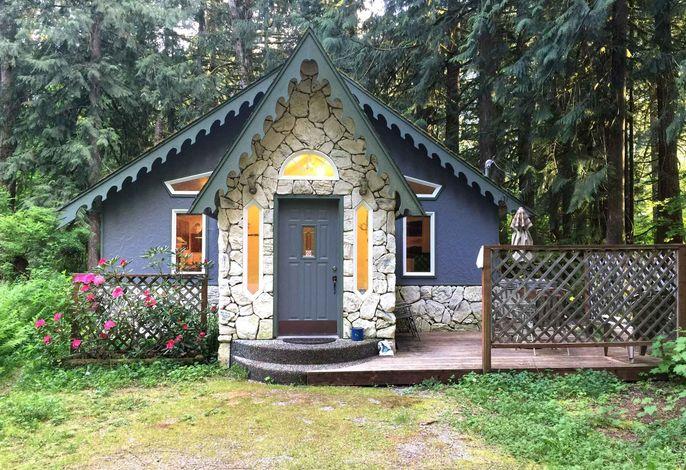 Ferienhaus with chimney