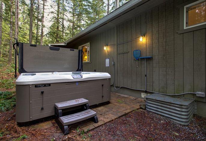 Ferienhaus mit Waschmaschine und Wäschetrockner