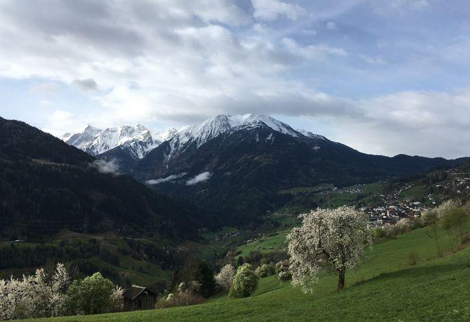 Wenns im Frühling, schöne Spazierwege rund um Wenns
