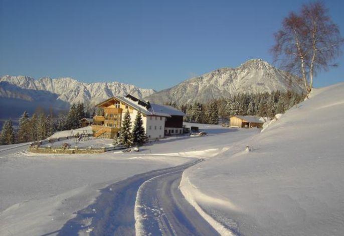 Der Berghof Thöni im Winter