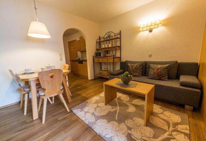 Wohnraum Ferienwohnung 2-4 Personen