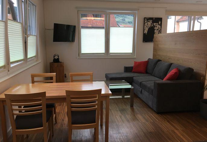 Loft Appartement Wohnbereich