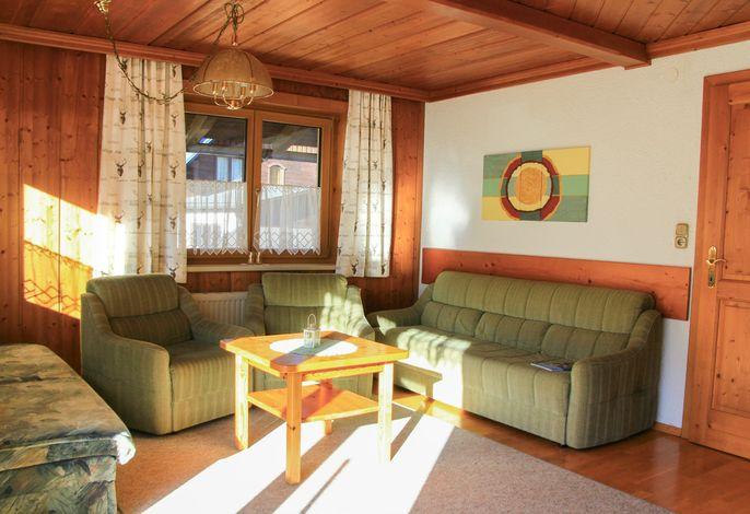 Wohnzimmer Apartment Hornspitz