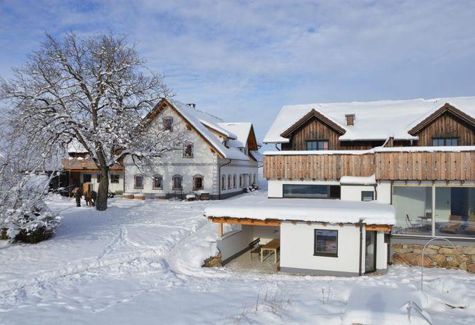 Biohof Ebenbauer im Winter
