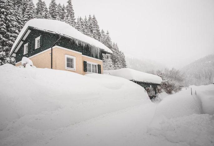 Ferienhaus Weitental im Winter