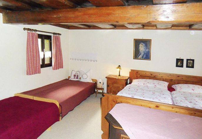 s'Badl - das urige Ferienhaus in Bad Goisern, Schlafbereich