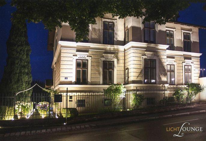 Villa Heidvogl bei Nacht