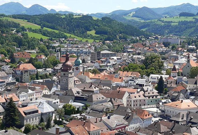Ausblick über die Stadt Waidhofen