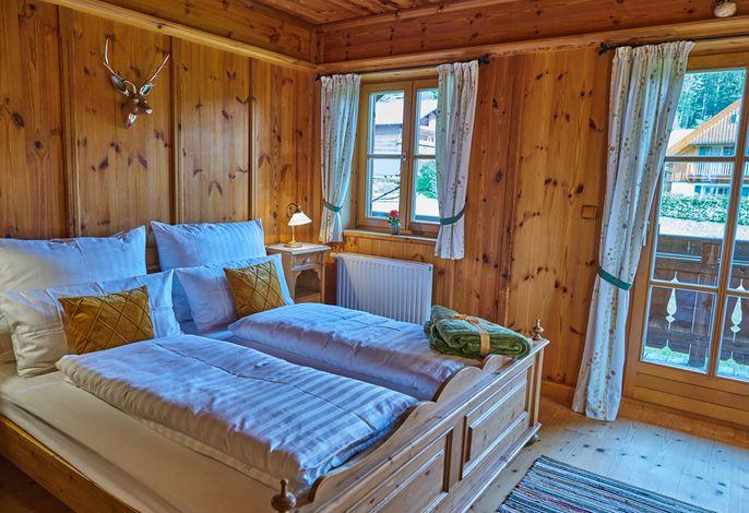 Komfortables Doppelzimmer mit Balkon