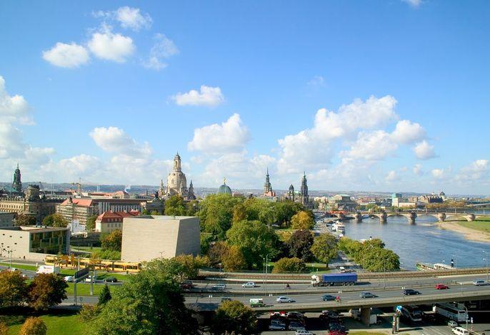 Beste Aussicht der Stadt