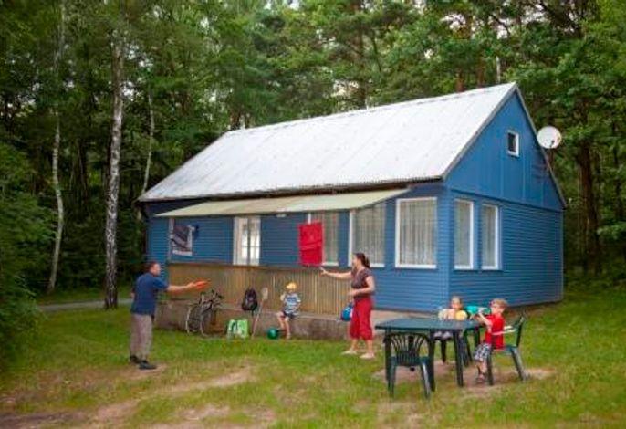 Ferienwohnung Maxi Außenansicht mit Terrasse