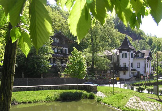 Unsere Pension im Sommer