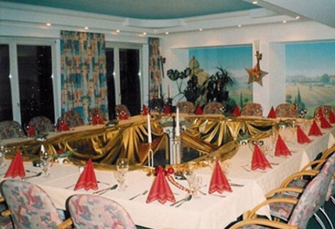 Raum für Tagungen oder Familienfeiern