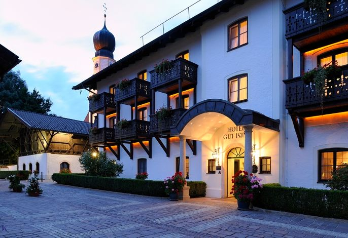 Hotel Gut Ising - Hoteleingang