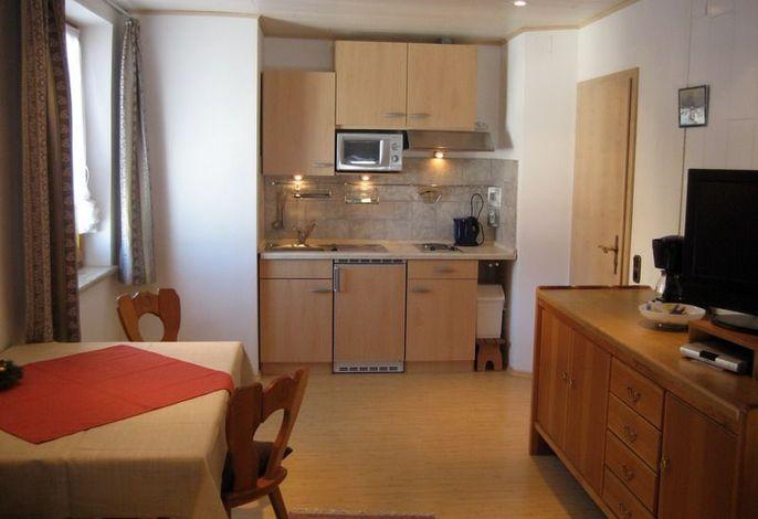 Küchenbereich in der Ferienwohnung Kaiserblick